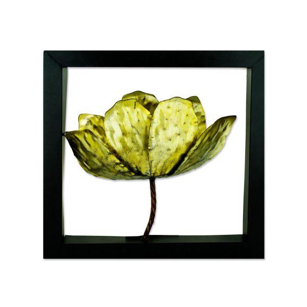 """14"""" Framed Tulip Wall Art"""