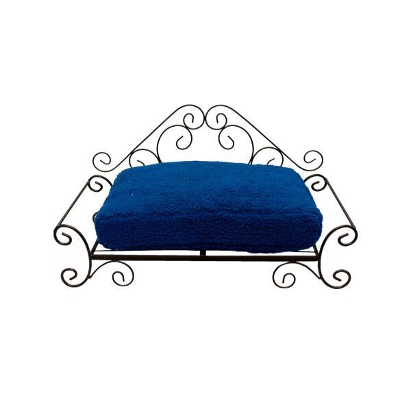 Big Heart Blue Pet Bed