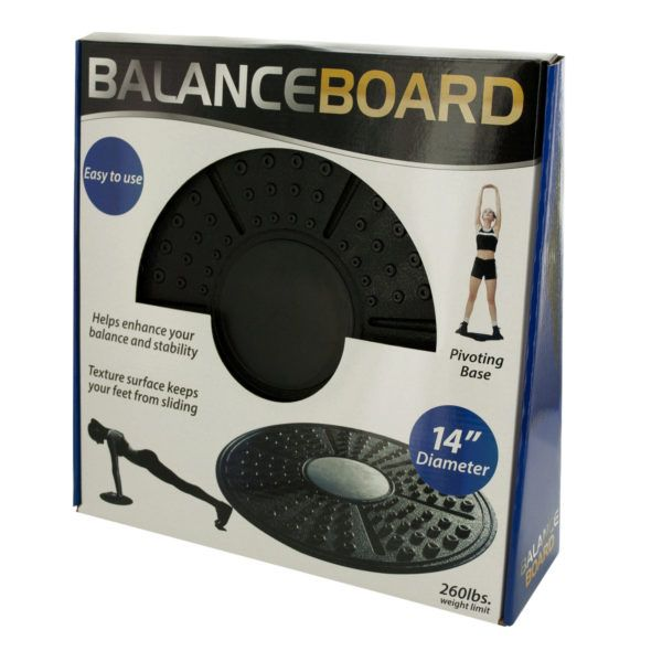 Balance Board Pivoting Exercise Platform, Pack Of 2