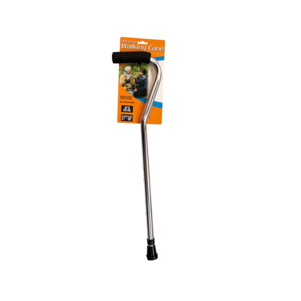 Adjustable Walking Cane With Foam Grip