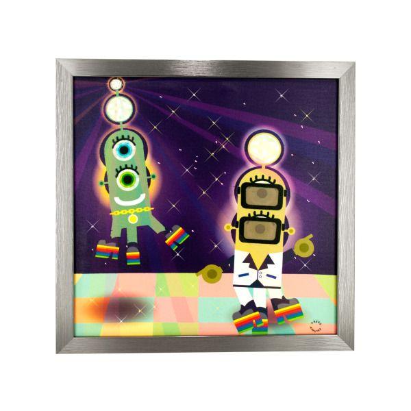 Disco Baller Musical Light Up Art