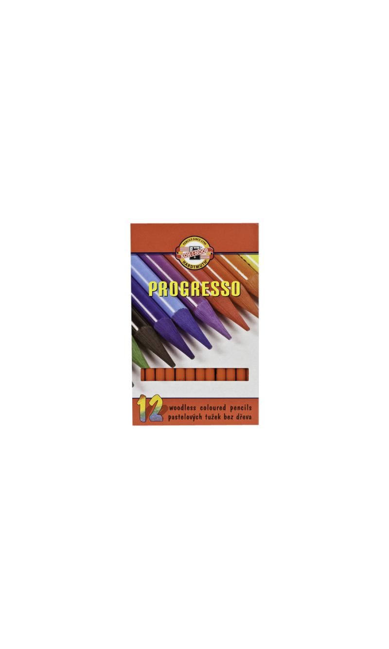 Woodless Colored Pencil Light Vermillion