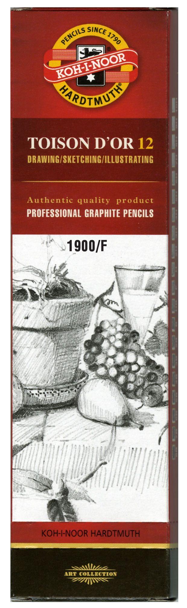 Toison D'or Graphite Pencil F