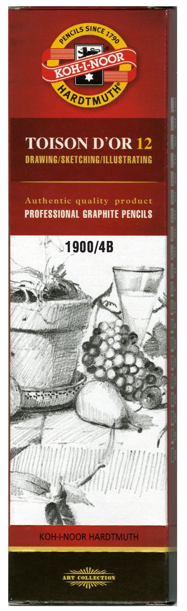 Toison D'or Graphite Pencil 4b