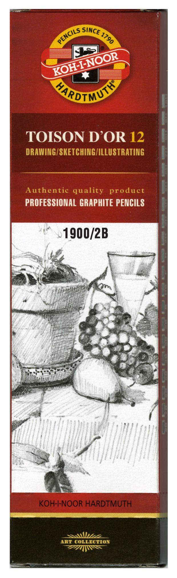 Toison D'or Graphite Pencil 2b