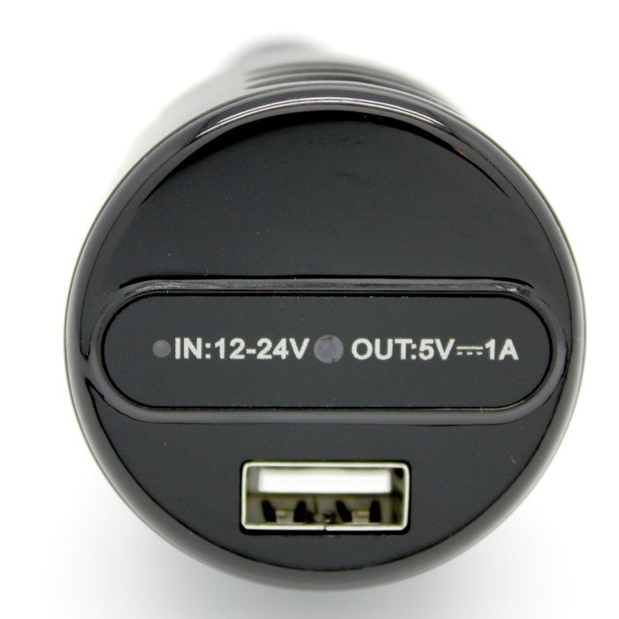 Car Charger Hidden Camera With Night Vision - Dvr277ir