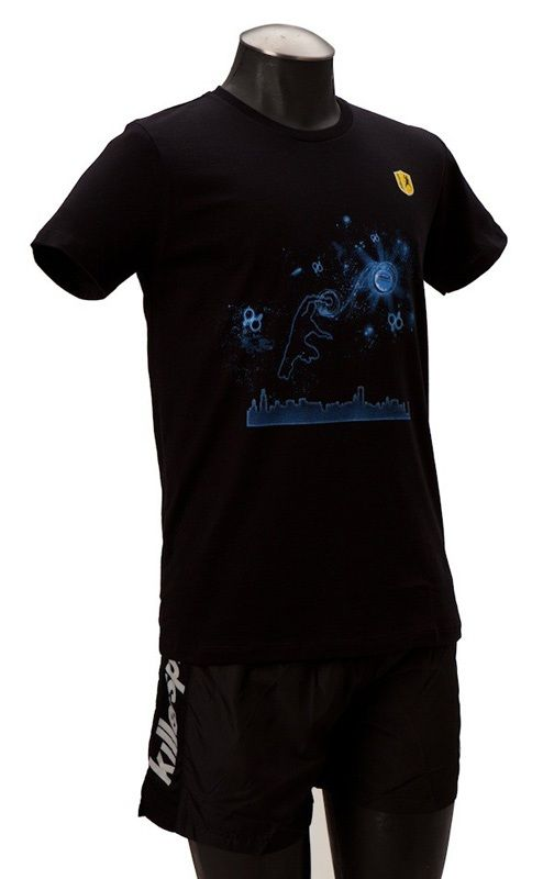 Killerspin Man in the Stars Shirt: Large