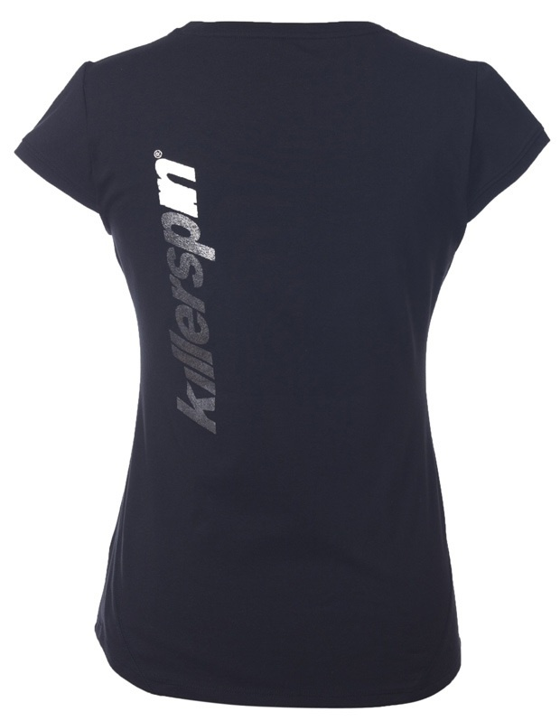 Killerspin Steely Girl Shirt: Black, Extra Small