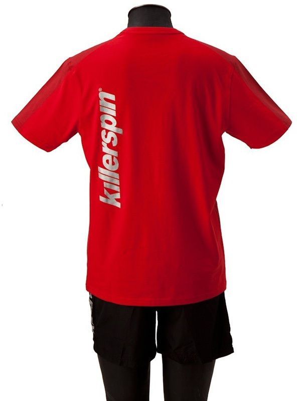 Killerspin The Steel Shield Shirt: Red/Grey, Small
