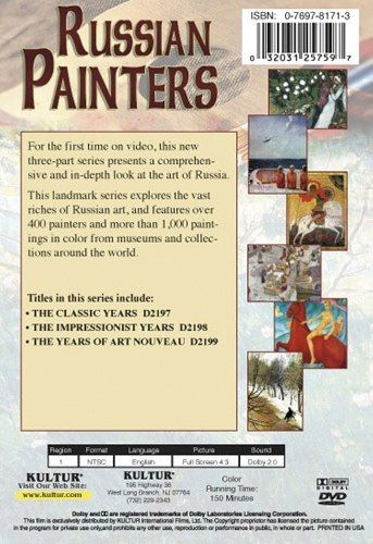 Russian Painters 3-DVD