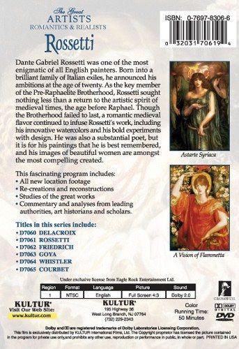 Romantics & Realists: Rossetti