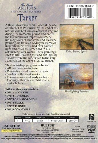 The English Masters: Turner