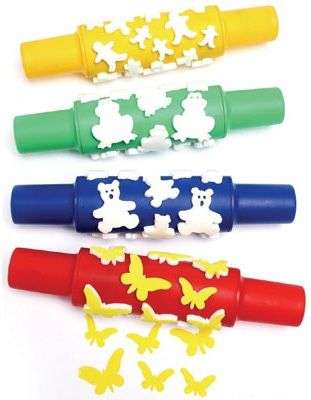Ready 2 Learn Paint Rollers - Creative - Set 1 - Set Of 4