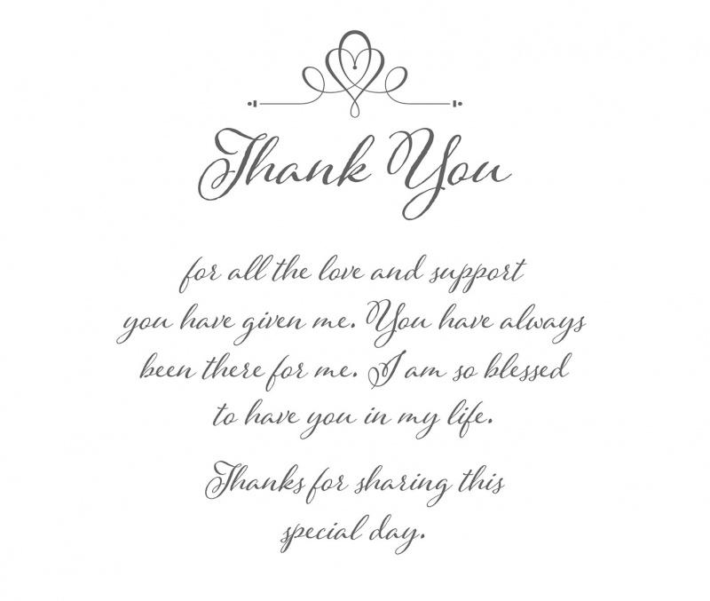 Thank You Women's Keepsake Hankie