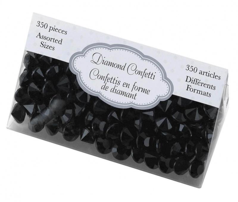 Black Diamond Confetti