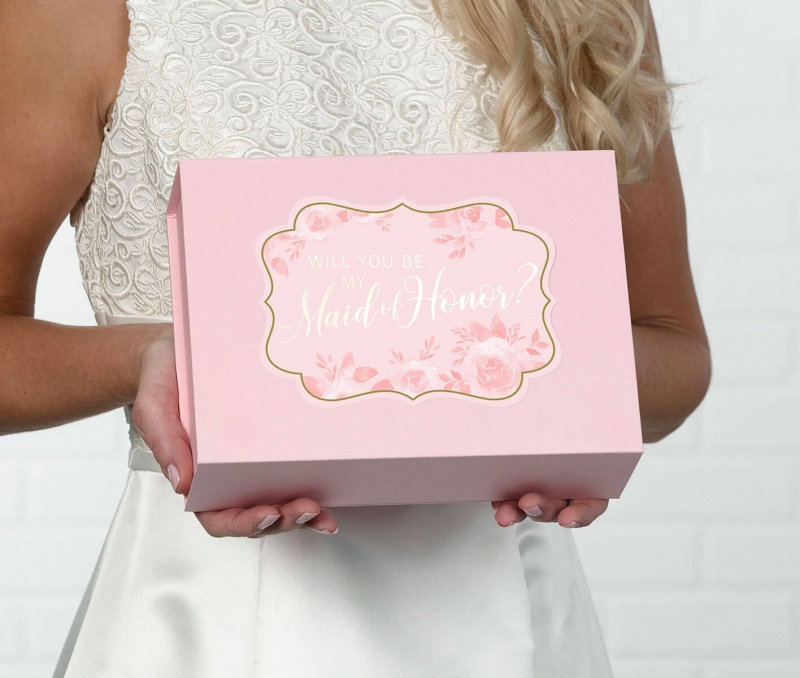 Be My Maid Of Honor Box