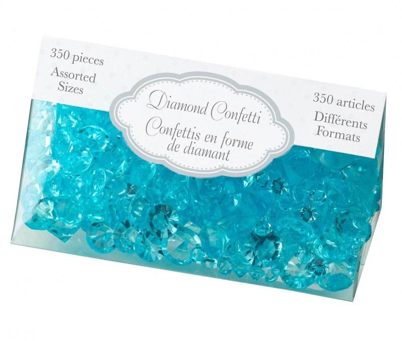Aqua Diamond Confetti