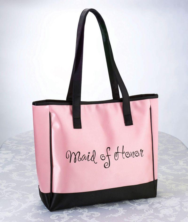 Pink Maid Of Honor Tote Bag