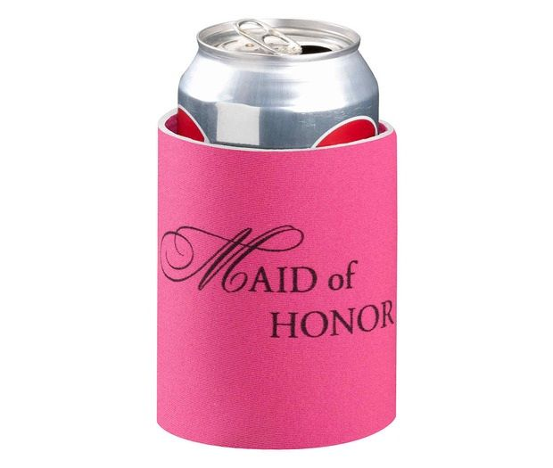 Pink Maid Of Honor Can Cozy