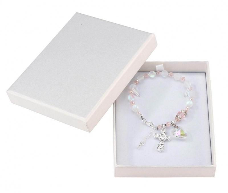 Quinceanera Rosary Bracelet