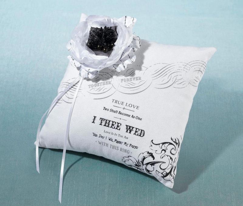 True Love Ring Bearer Pillow