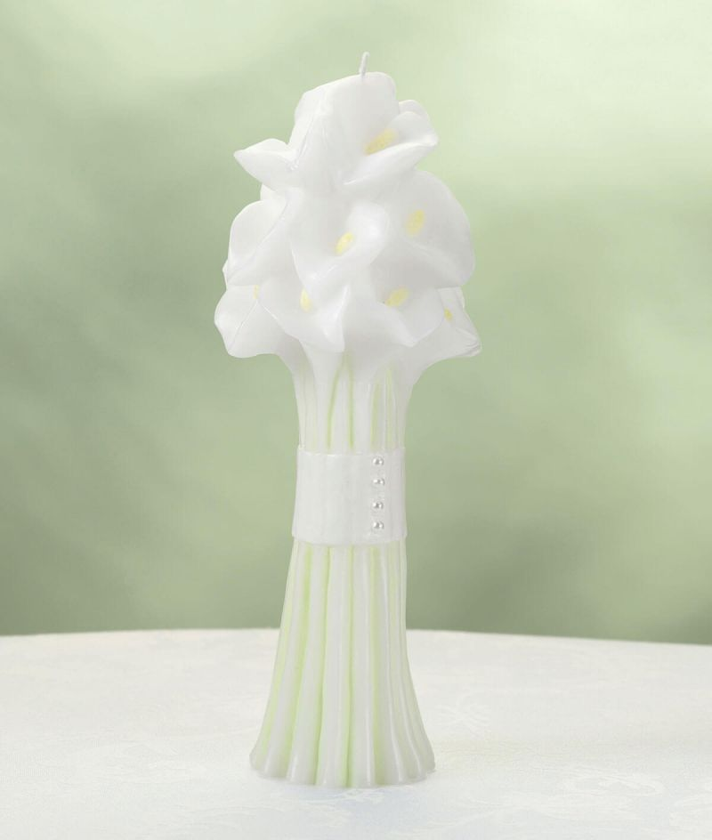 Unity Ceremony Calla Lily Candle