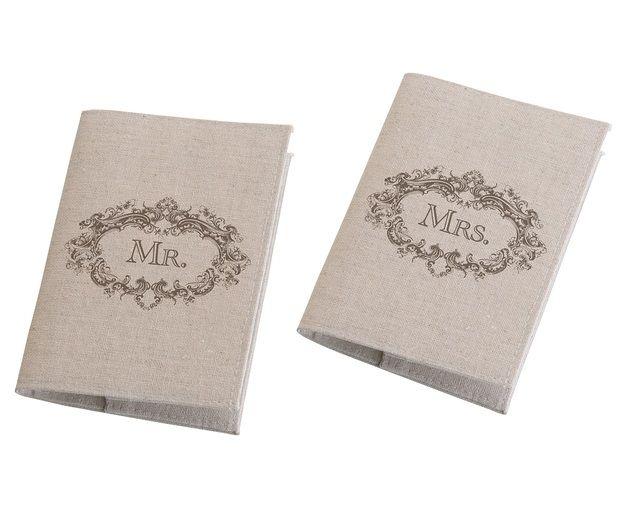 Mr. & Mrs. Tan Passport Cover