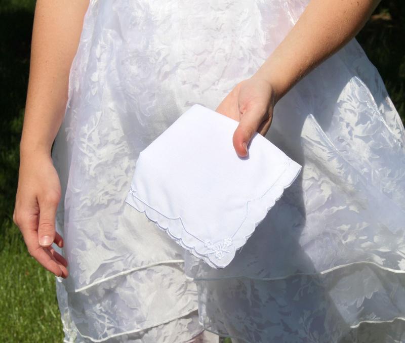 Women's Cotton Keepsake Hankie