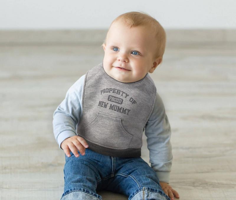 Property Of Mommy Baby Bib