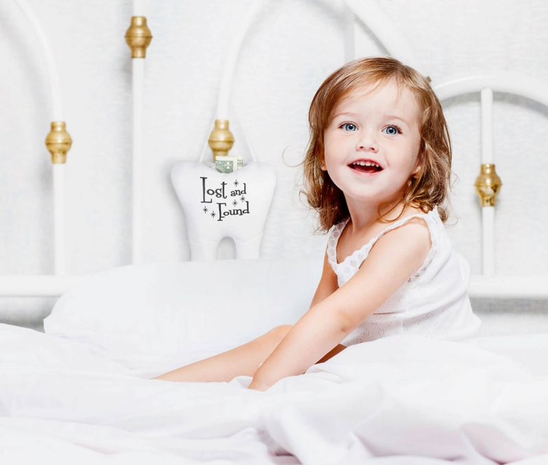 Lost & Found Tooth Fairy Pillow