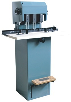 Lassco-Wizer Paper Drill: 3 Spindle and Moveable Heads