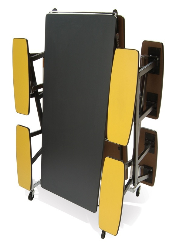 """Mitchell 10 Individual Seats with Chrome Legs: 27"""" Height"""