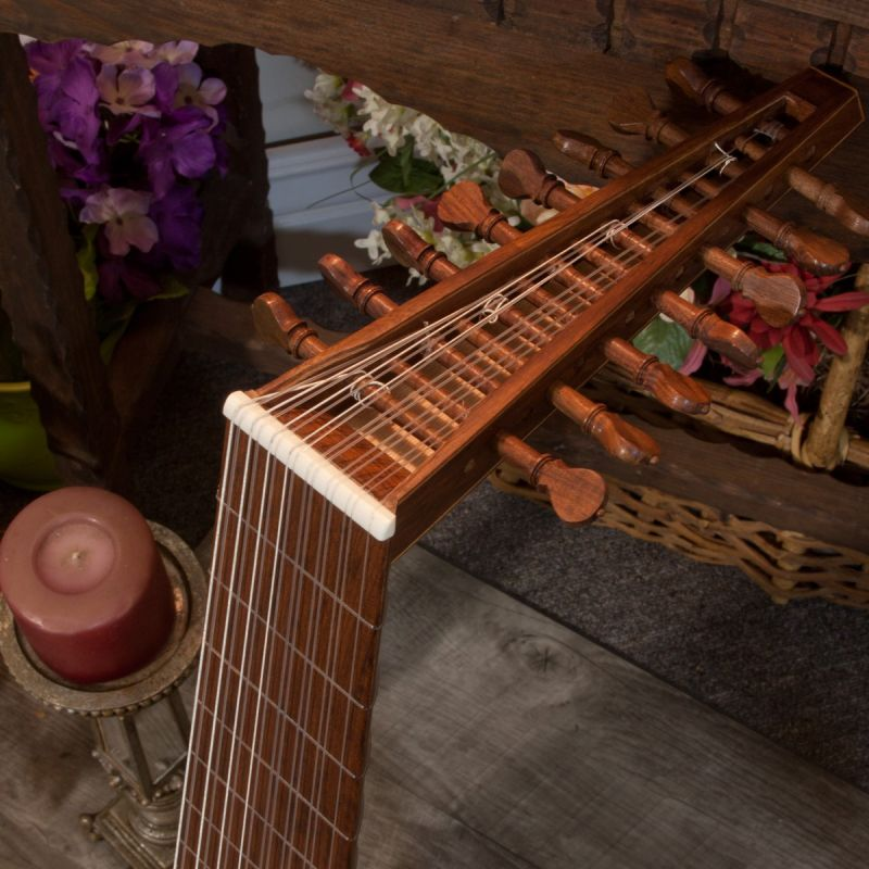 Roosebeck Deluxe 8-Course Lute Sheesham -1