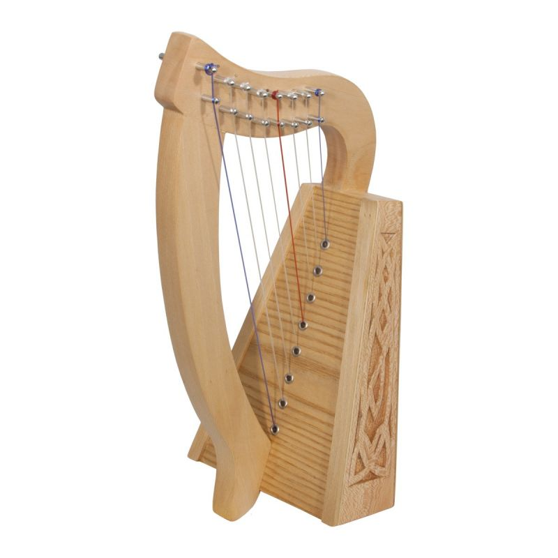 Roosebeck Lily Harp 8-String, Lacewood