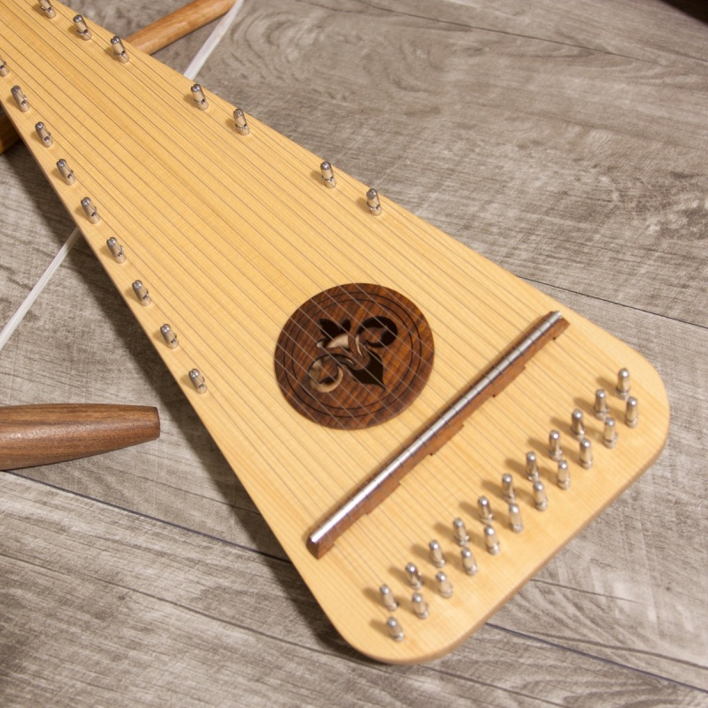 Roosebeck Soprano Rounded Psaltery Left-Handed