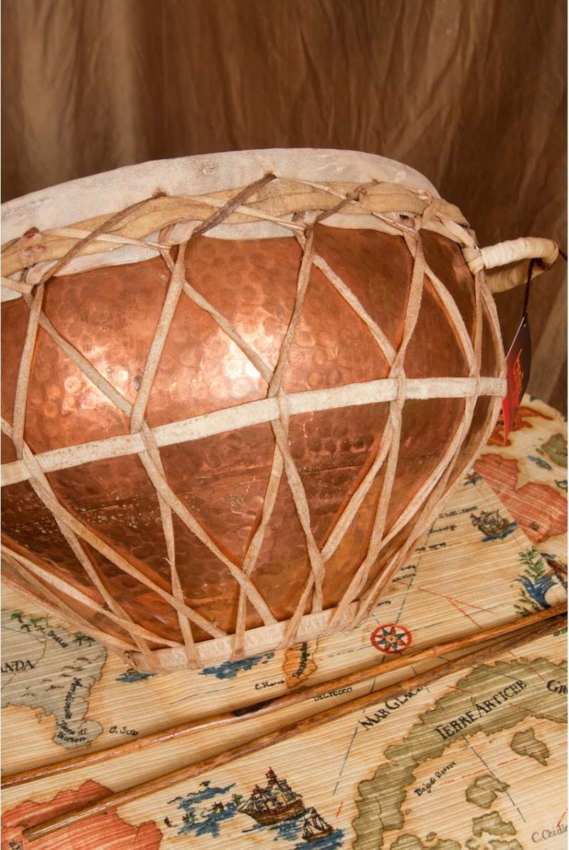 "Banjira Copper Tasha Kettledrum 12"""