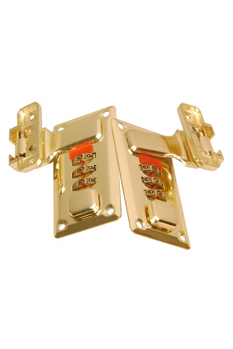 Roosebeck Lute Case Combination Locks - Pair