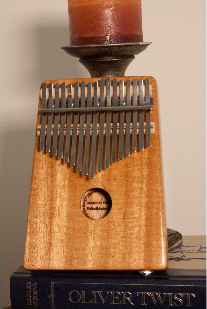 Dobani 17-Key Kalimba With Pickup - Mahogany