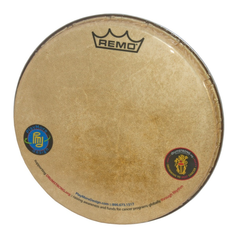 Remo Skyndeep Doumbek Head 10-Inch X 3/4-Inch - M5 Type, Playmore And Drumstrong