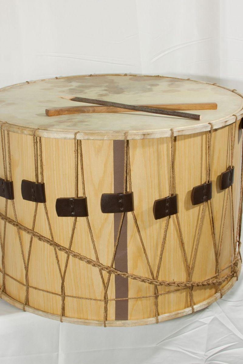"""Mid-East Rope Tuned Tupan Drum 26"""""""