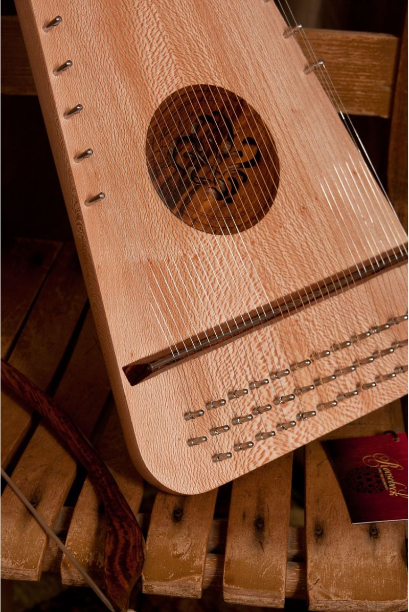 Roosebeck Baritone Rounded Psaltery Left-Handed