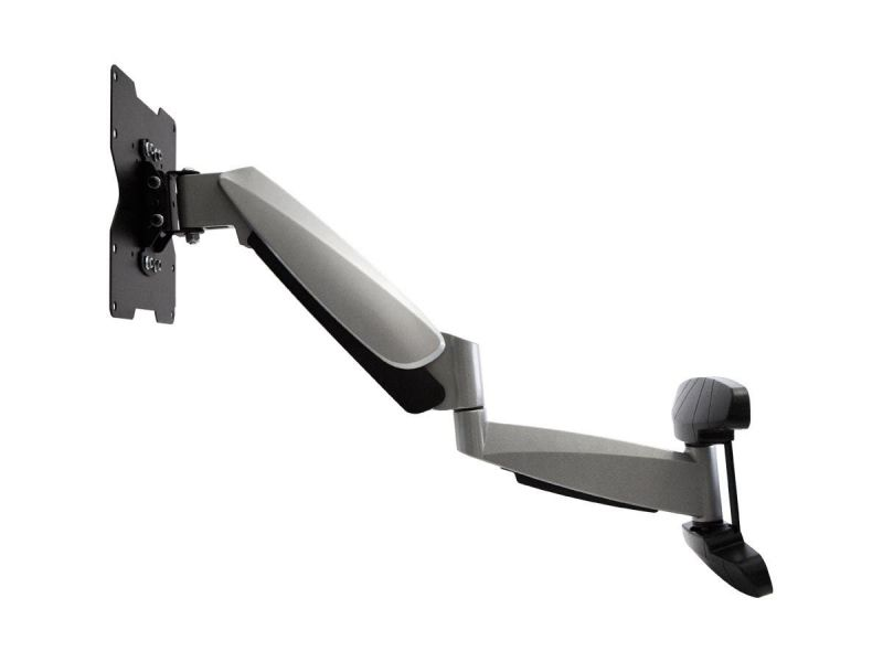 Monoprice Ez Series Full Motion Articulating Tv Wall Mount Bracket For Tvs Up To 42In, Max Weight 44Lbs, Extension Range Of 2.3In To 23.4In, Vesa Patterns Up To 200X200, Rotating