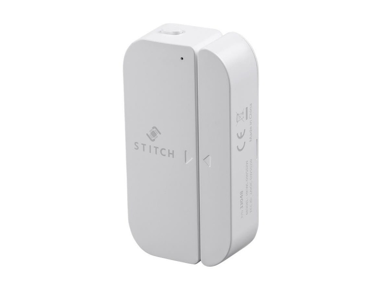 Stitch By Monoprice Wireless Smart Home Starter 5-piece Kit, Works With Amazon Alexa And Google Home For Touchless Voice Control, No Hub Required