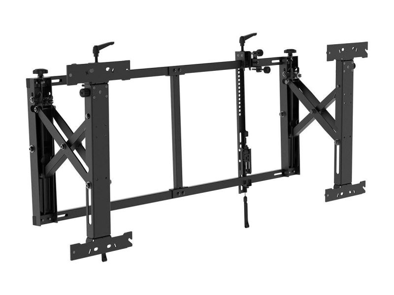Monoprice Commercial Series Push-to-pop-out Tv Video Wall Mount For 50in To 55in Led Screens, Max Weight 154 Lbs, Vesa Patterns Up To 800x400