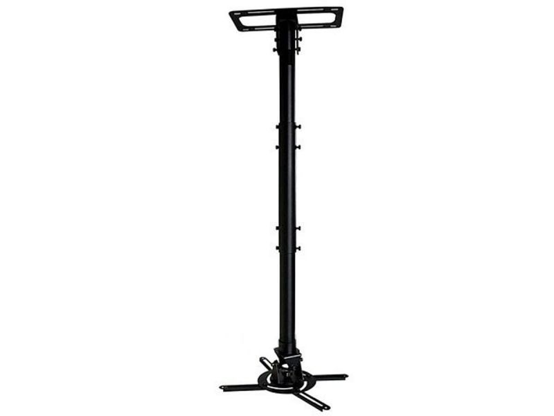 Monoprice Commercial Series Extendable Pole Ceiling Mount Bracket For Projector (max 50 Lbs.)