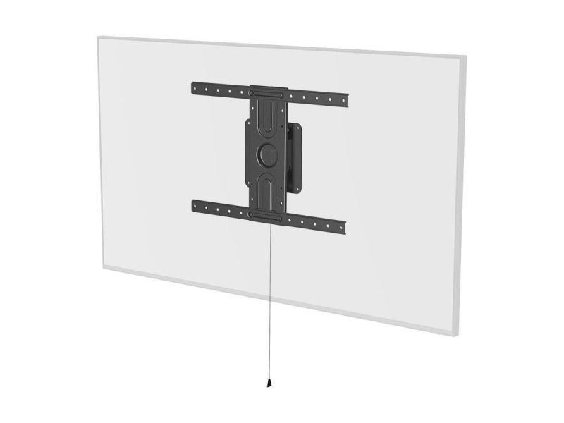 Monoprice Commercial Series Portrait And Landscape Rotating 360 Degree Low Profile Fixed Tv Wall Mount Bracket - For Led Displays 37in To 80in, Max Weight 110 Lbs., Vesa Patterns Up To 600x400