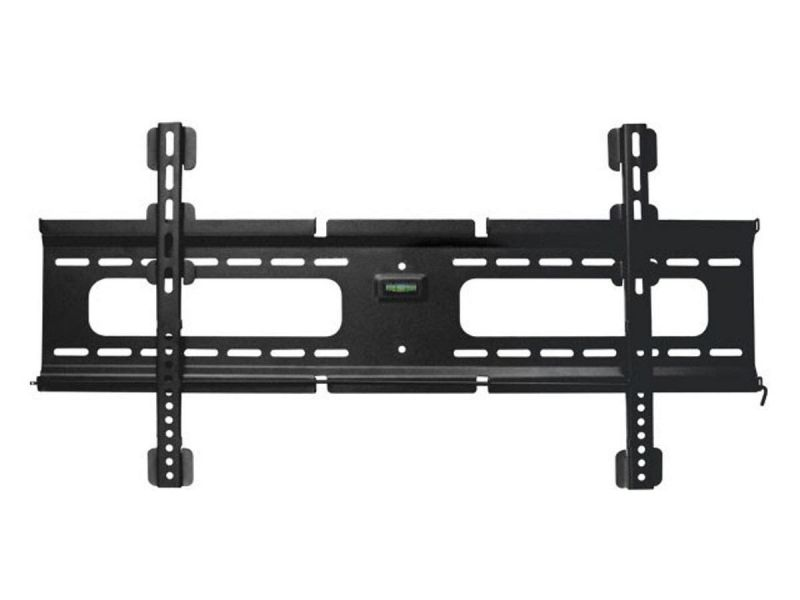 Monoprice Slimselect Series Low Profile Fixed Tv Wall Mount Bracket - For Led Tvs 37In To 70In, Max Weight 165 Lbs, Vesa Patterns Up To 800X400, Security Brackets, Height Adjustable