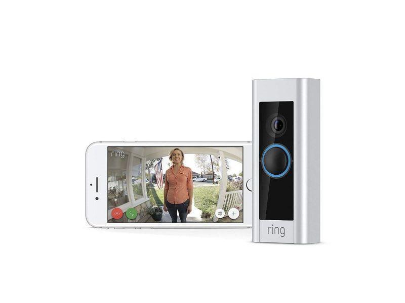 Ring - Video Doorbell Pro - Satin Nickel 88lp000ch000-1 (open Box)