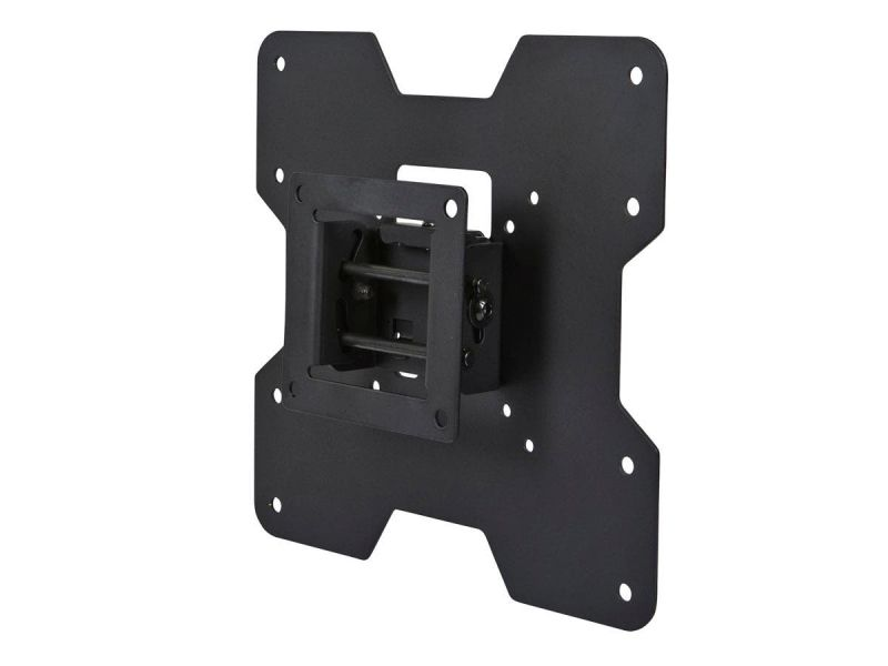 Monoprice Low Profile Tilt Tv Wall Mount Bracket - For Led Tvs 24In To 37In, Max Weight 80Lbs, Vesa Patterns Up To 200X200, Concrete / Brick Only