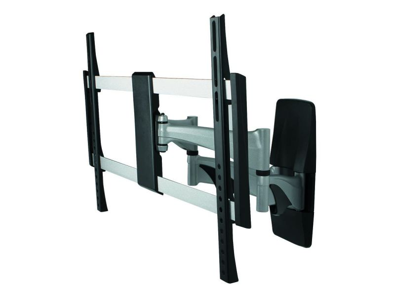 Monoprice Ez Series Full-Motion Articulating Tv Wall Mount Bracket For Tvs 37In To 70In, Max Weight 99 Lbs, Extends From 2.0In To 17.5In, Vesa Up To 600X400, Rotating , Concrete & Brick, Ul Certified